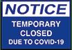 Temprary Closed