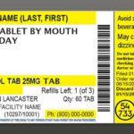 prescription-label